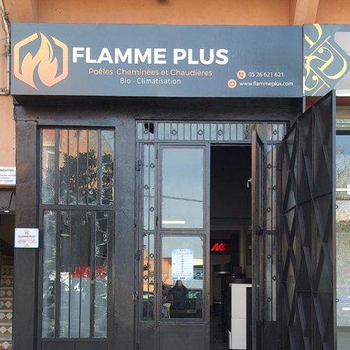 Flamme PLus Show room sociéte
