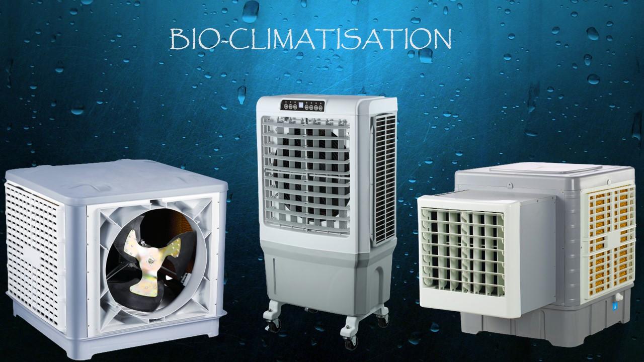 Bio climatisation refroidissement adiabatique